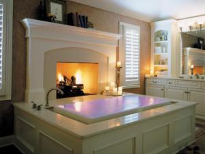 chromotherapy bathtub