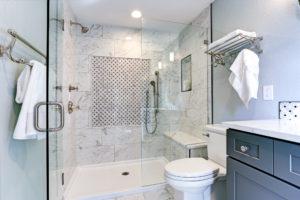 Elite Living Remodeling Tub to Shower Conversion Bathroom Remodel