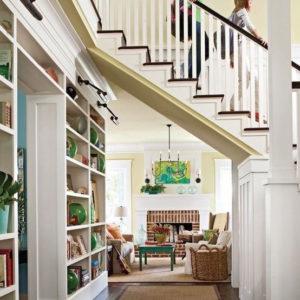 Elite Living Remodeling Under the Stairs Walkway