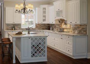 Elite Living Remodeling raised panel kitchen cabinets