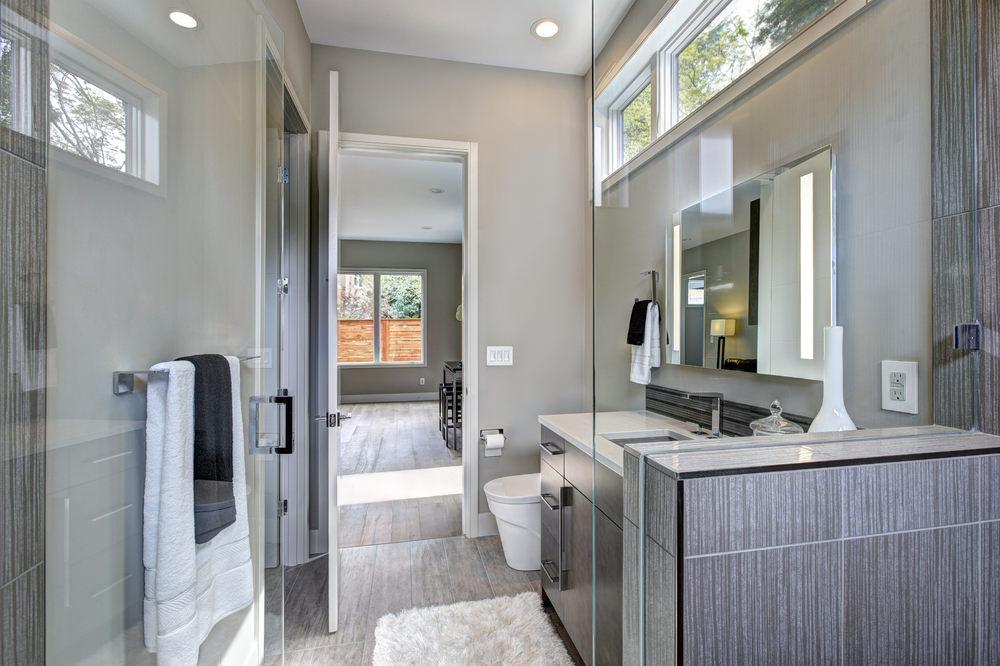 Tub to Shower Conversion Bathroom Remodel